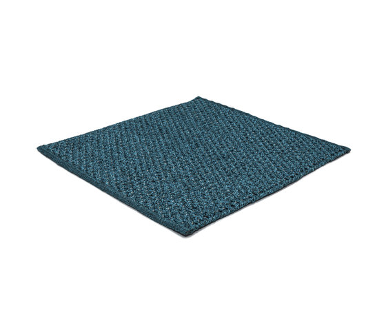 Sonic Waves crystal blue by kymo | Rugs