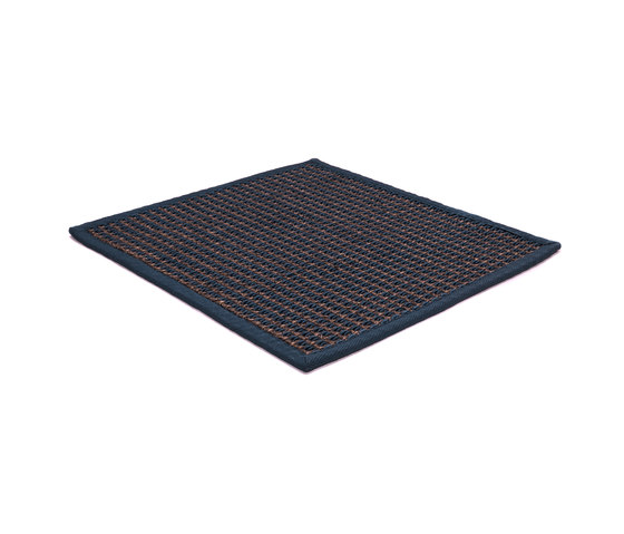 Stereo Total brown & navy by kymo | Rugs