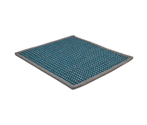 Stereo Total crystal blue & silver grey de kymo | Alfombras / Alfombras de diseño