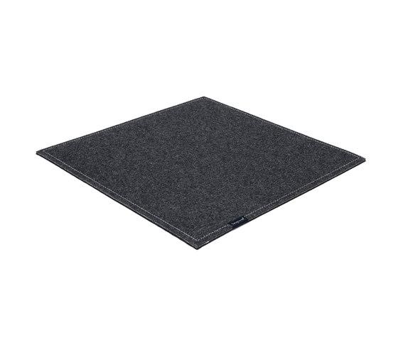 Office [Flat] dark grey by kymo | Rugs