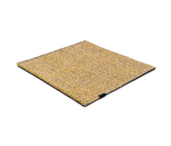 Nordic Drop nature & yellow by kymo   Rugs