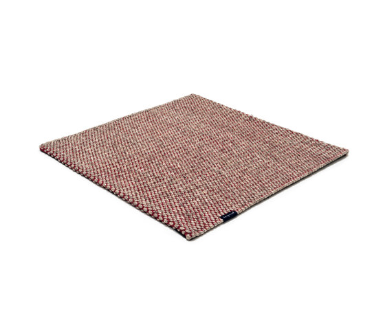 Nordic Drop nature & red by kymo   Rugs