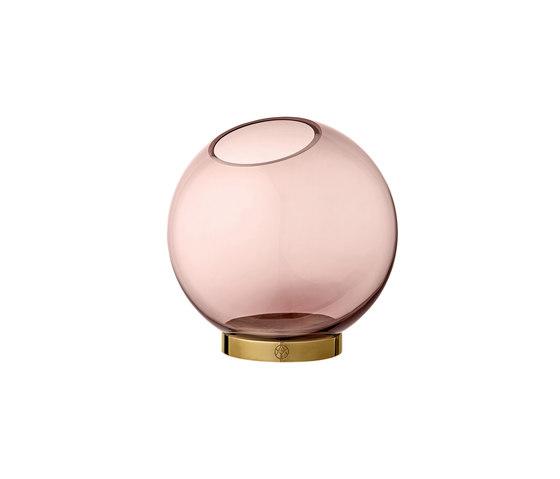 Globe | vase w. stand medium by AYTM | Vases