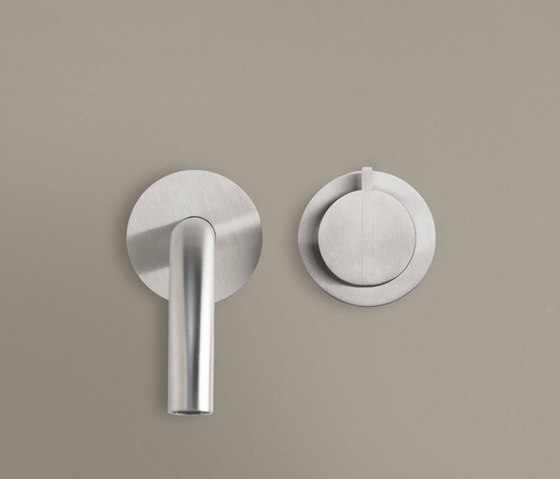 PB SET02 | Wall mounted cold water tap with 220mm spout by COCOON | Wash basin taps