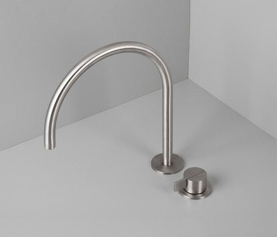 PB SET12 | Deck mounted basin mixer with swivel spout de COCOON | Grifería para lavabos