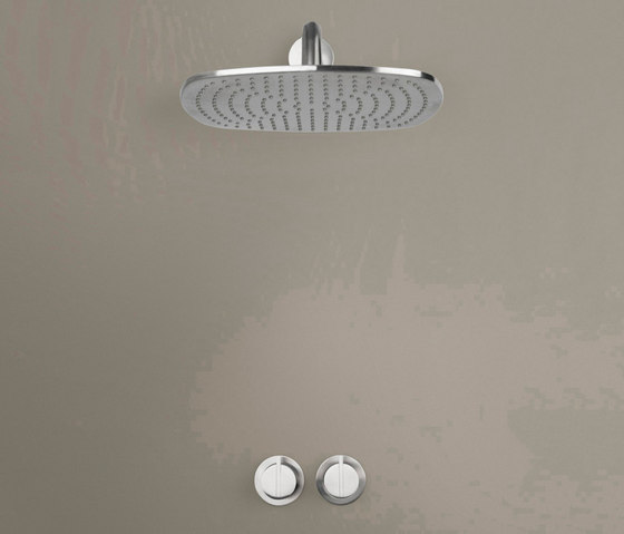 PB SET20 THERM | Thermostatic rain shower set by COCOON | Shower controls