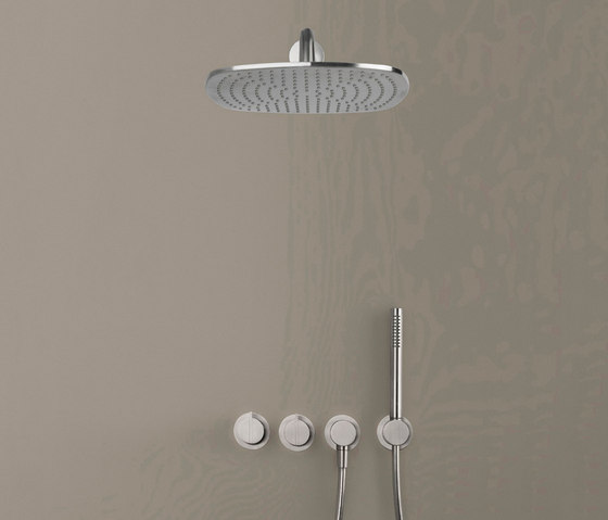 PB SET22 THERM | Complete Thermostatic Rain shower set by COCOON | Shower controls