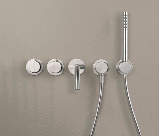 PB SET24 THERM | Complete Thermostatic bath set by COCOON | Shower controls