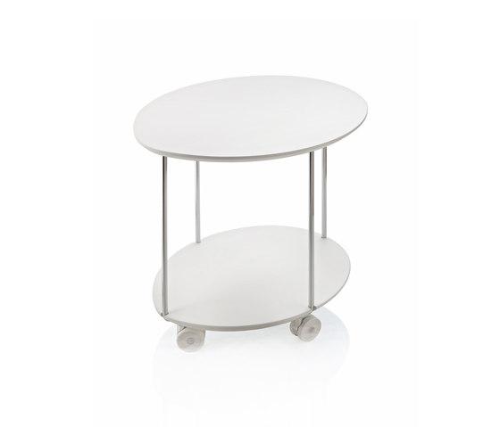 Clyde Carrellino di ALMA Design | Tavolini bassi