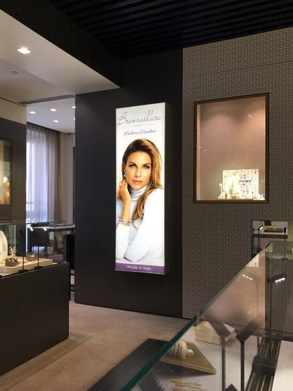 LightWall by Dresswall | Advertising displays
