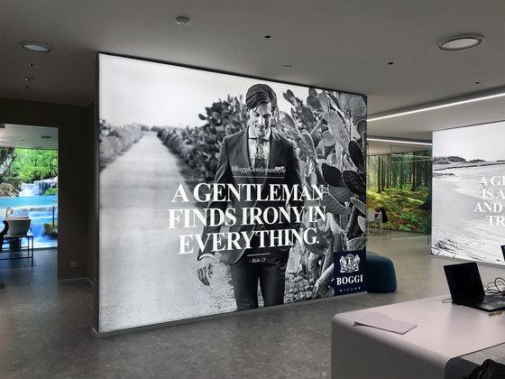 LightWall by Dresswall | Advertising displays