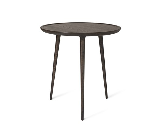 Accent Cafe Table - Sirka Grey Stained Oak di Mater | Tavoli bistrò