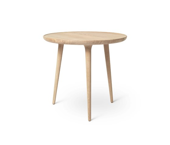 Accent Side Table - Mat Lacquered Oak - Large by Mater   Side tables