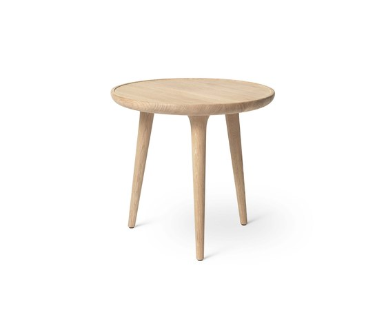 Accent Side Table - Mat Lacquered Oak - Small by Mater | Side tables