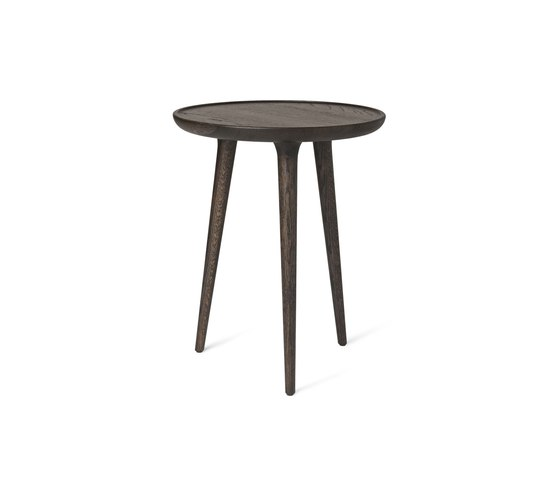 Accent Side Table - Sirka Grey Stained Oak - medium di Mater | Tavolini alti