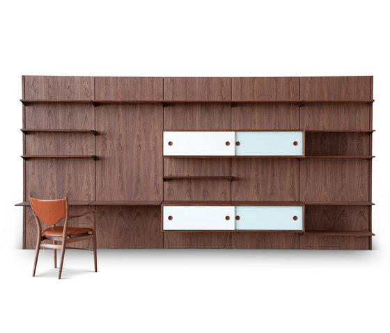 FJ panel system von House of Finn Juhl - Onecollection | Wohnwände