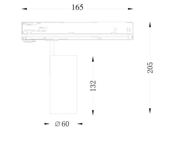 Smart Track XS von Ilmas | Deckenleuchten
