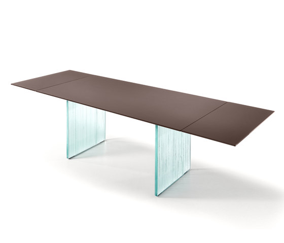 WAVES extendible table by Fiam Italia | Dining tables