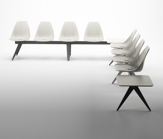 X Beam Bench de ALMA Design | Bancos