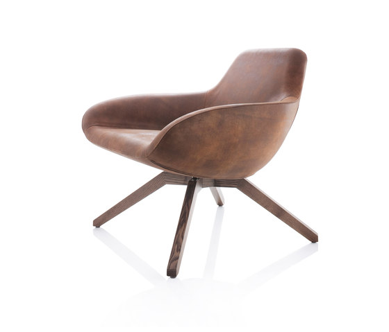 X Big Lounge Chair by ALMA Design   Armchairs