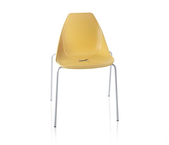 X Four Chair by ALMA Design | Chairs