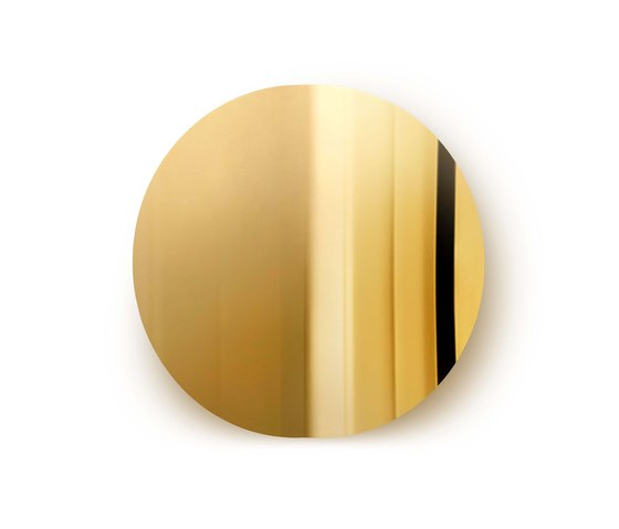 Imago Mirror Object - Brass by Mater | Mirrors