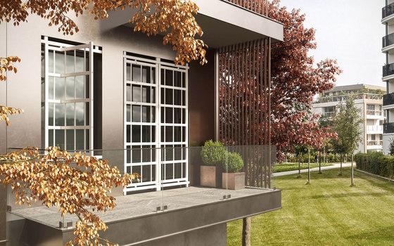 Galatea - Security Grille by Di.Bi. Porte Blindate | Patio doors