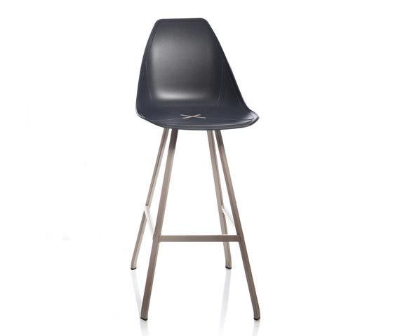 X Spider Stool by ALMA Design | Bar stools
