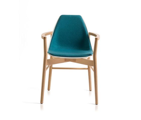 X Wood2 Armchair de ALMA Design   Sillas