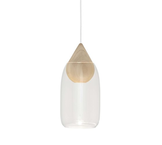 Liuku Glass Shade - Transparent by Mater | Suspended lights