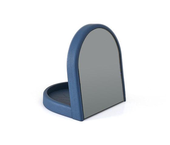 Tidy mirror Armand, grey blue by Hartô | Mirrors