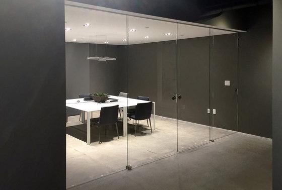 Gamma Evo solution | Trasparent by Casali | Internal doors
