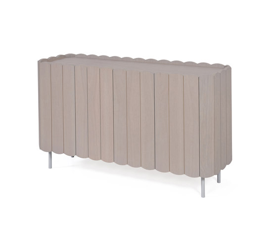 Sideboard Cesar 124cm, light grey by Hartô | Sideboards