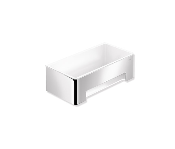 Shower basket chrome   900.03.00140 by HEWI   Soap holders / dishes