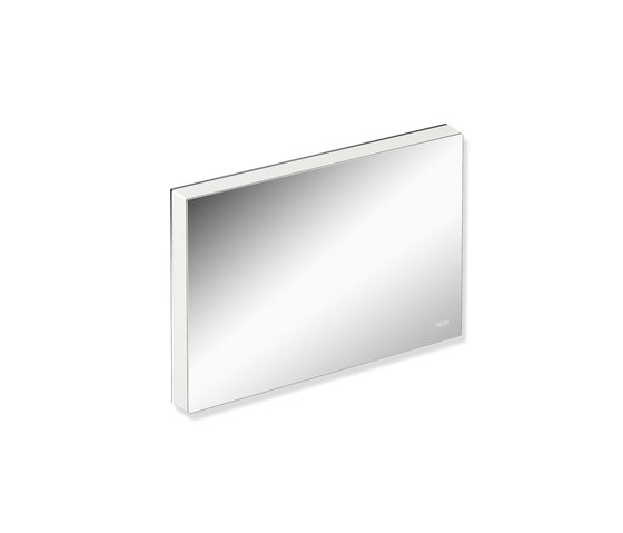 Mounting plate with cover chrome | 900.51.00340 by HEWI | Shower seats