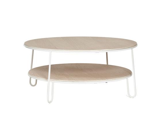 Coffee table Eugenie 90cm, white di Hartô | Tavolini bassi