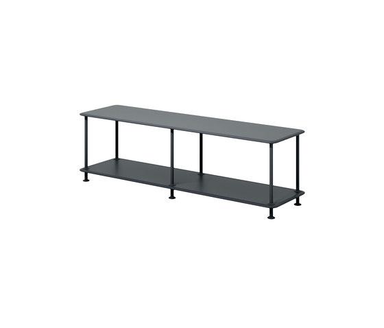 Montana Free (110000) | A minimalistic TV bench de Montana Furniture | Estantería