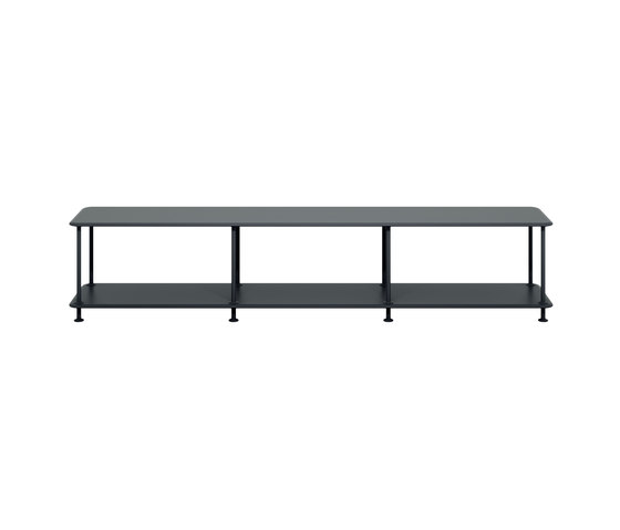 Montana Free (110000) | A minimalistic TV bench by Montana Furniture | Shelving