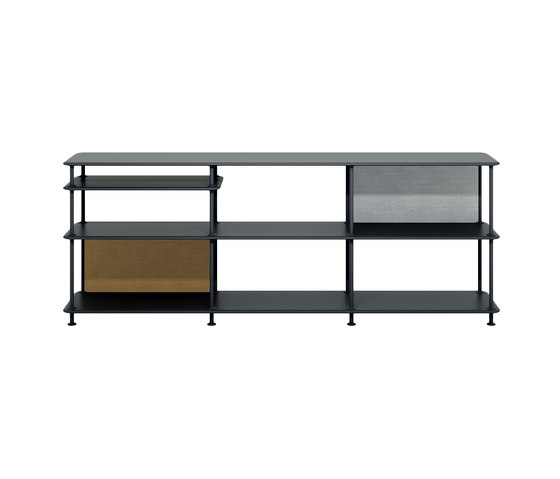 Montana Free (222000) | a freestanding shelving system by Montana Furniture | Shelving