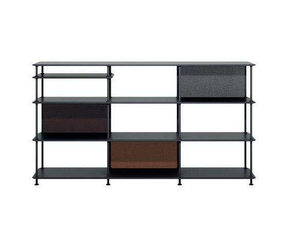 Montana Free (333000) | a freestanding shelving system by Montana Furniture | Shelving