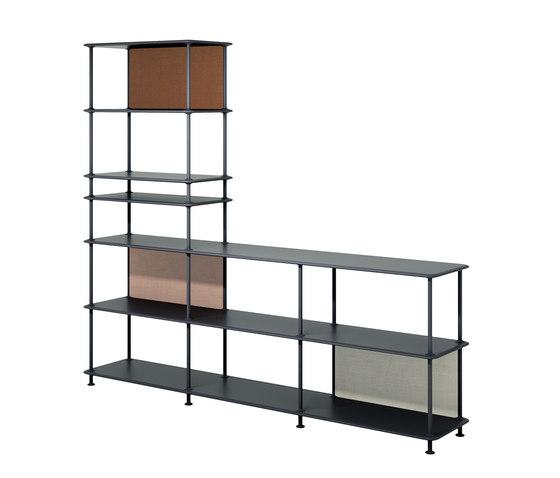 Montana Free (522000) | Large L-shaped shelving system by Montana Furniture | Shelving