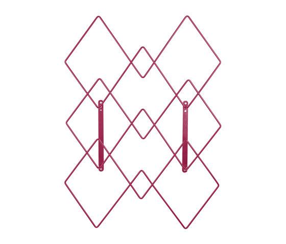 Coat hanger Firmin, cherry red von Hartô | Garderoben