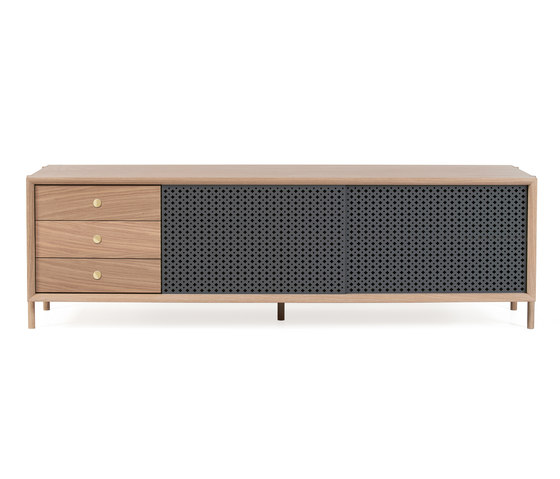 Gabin sideboard 162cm with drawers, slate grey by Hartô | Sideboards