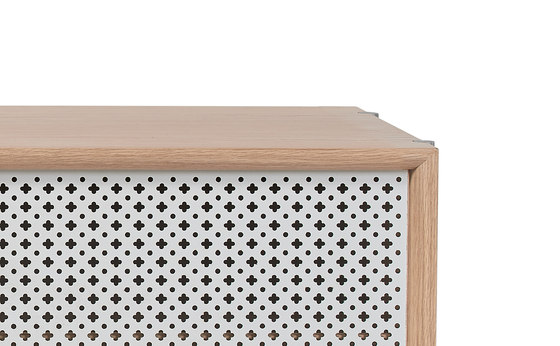 Gabin sideboard 162cm with drawers, light grey by Hartô   Sideboards