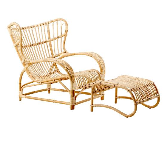Teddy | Chair & foot stool von Sika Design | Sessel