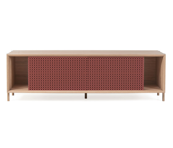 Gabin sideboard 162cm without drawers, pomelo pink by Hartô | Sideboards
