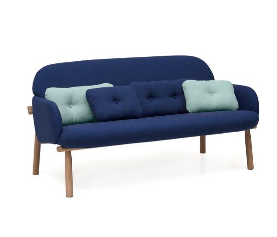 Sofa Georges, dark blue by Hartô | Sofas