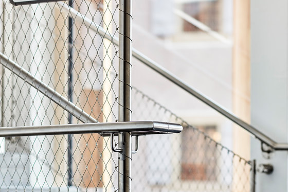 Railing fillings by Jakob | Metal meshes