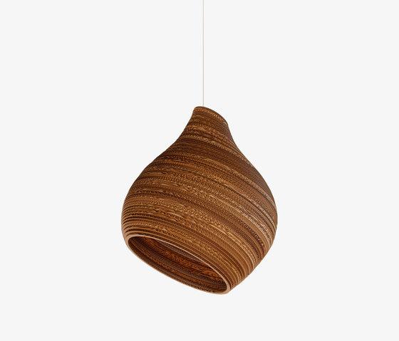 Hive15 Natural pendant- E27 2M cord de Graypants | Lámparas de suspensión
