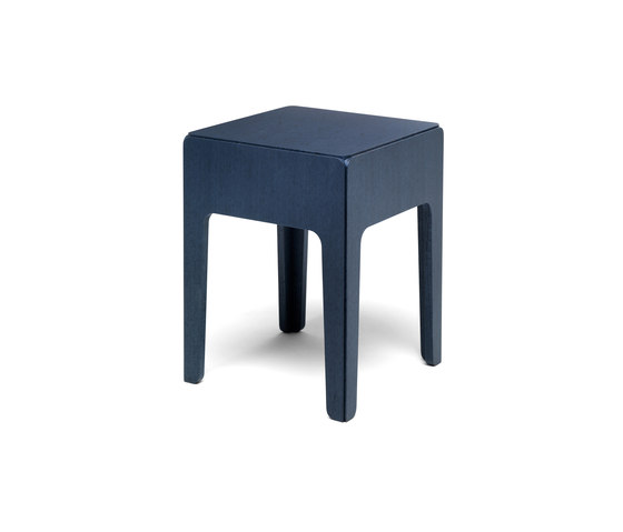 Wood side table tall de Eponimo | Mesas auxiliares